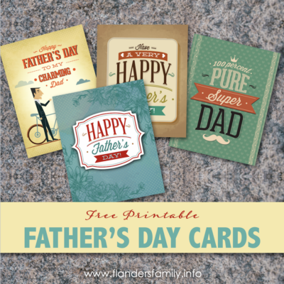 Free Father's Day Cards for You to Print
