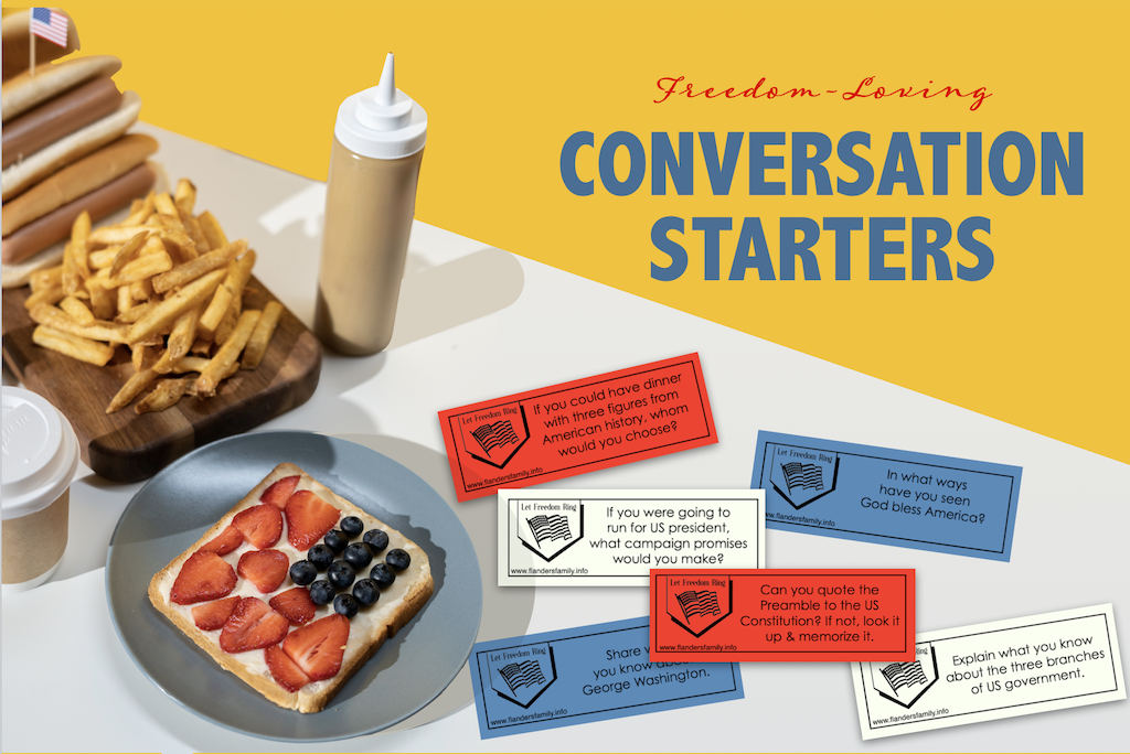 Freedom-Loving Conversations Starters