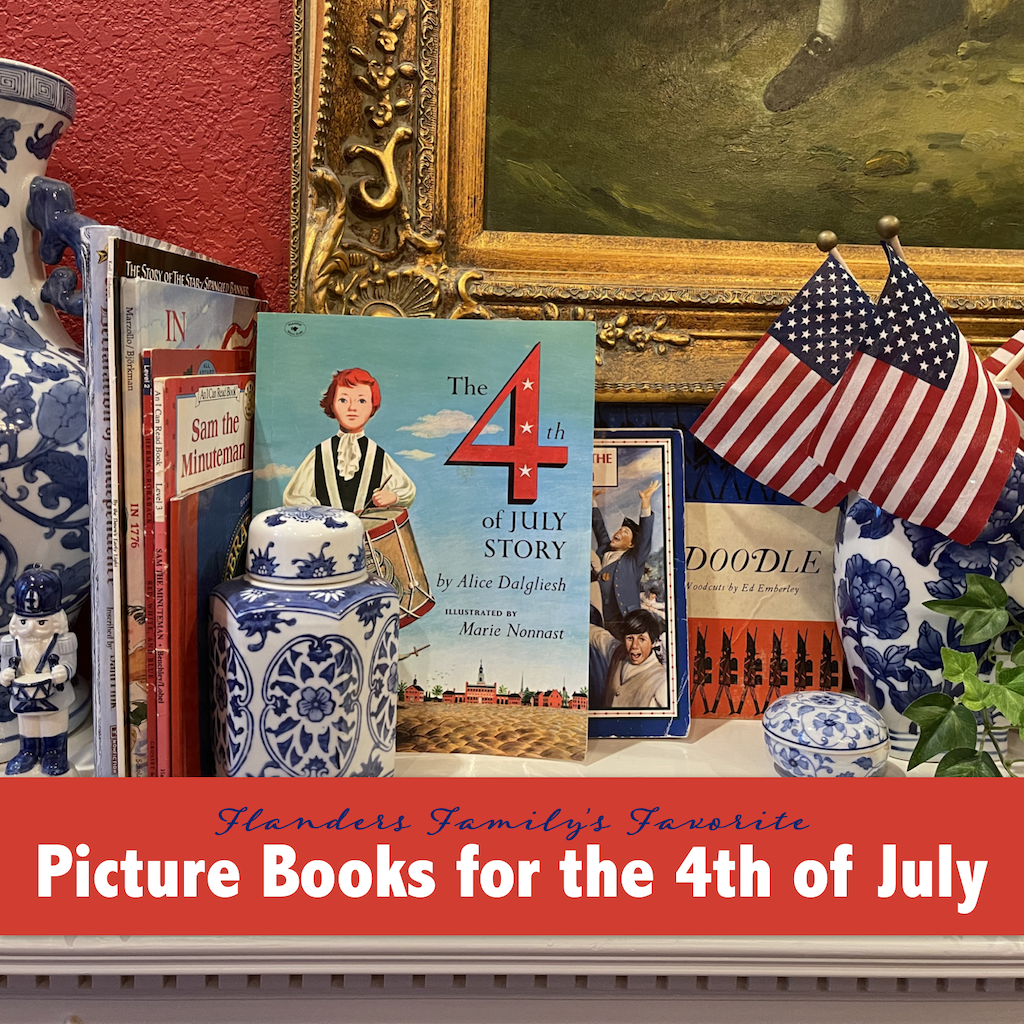 Patriotic Picture Books for Independence Day
