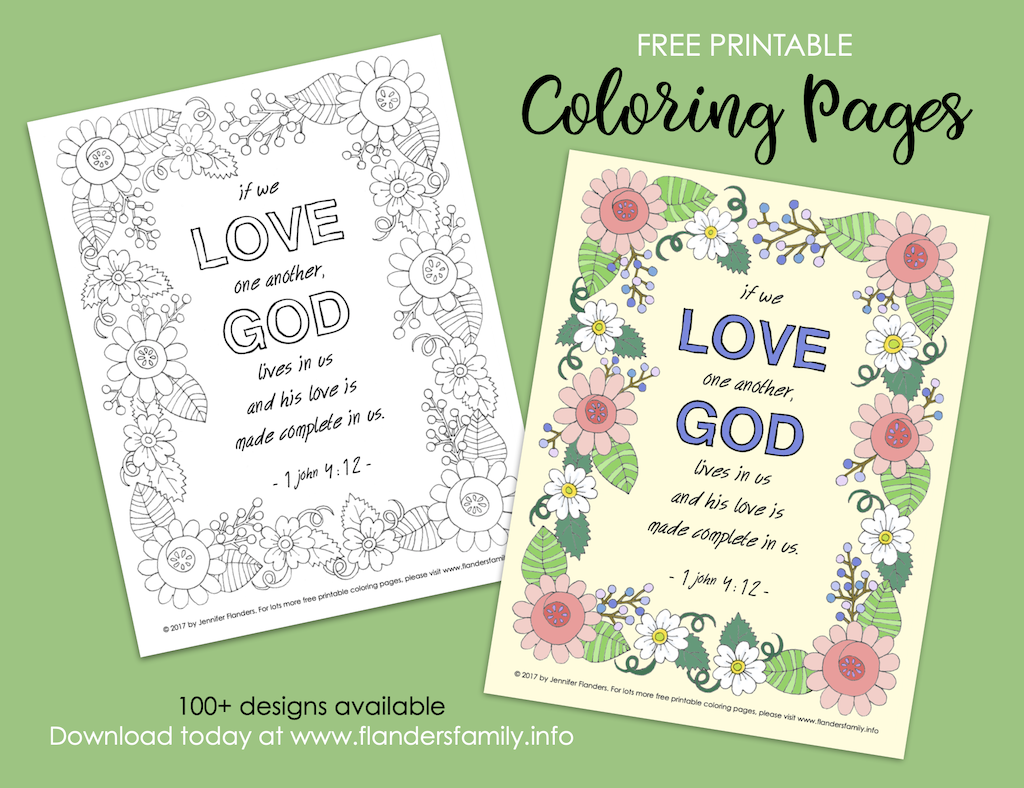 Love Made Complete Coloring Page