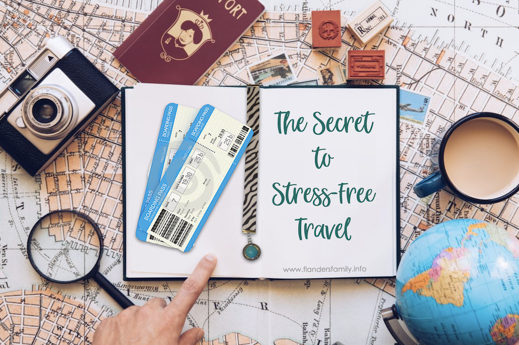 Secret to Stress-Free Travel