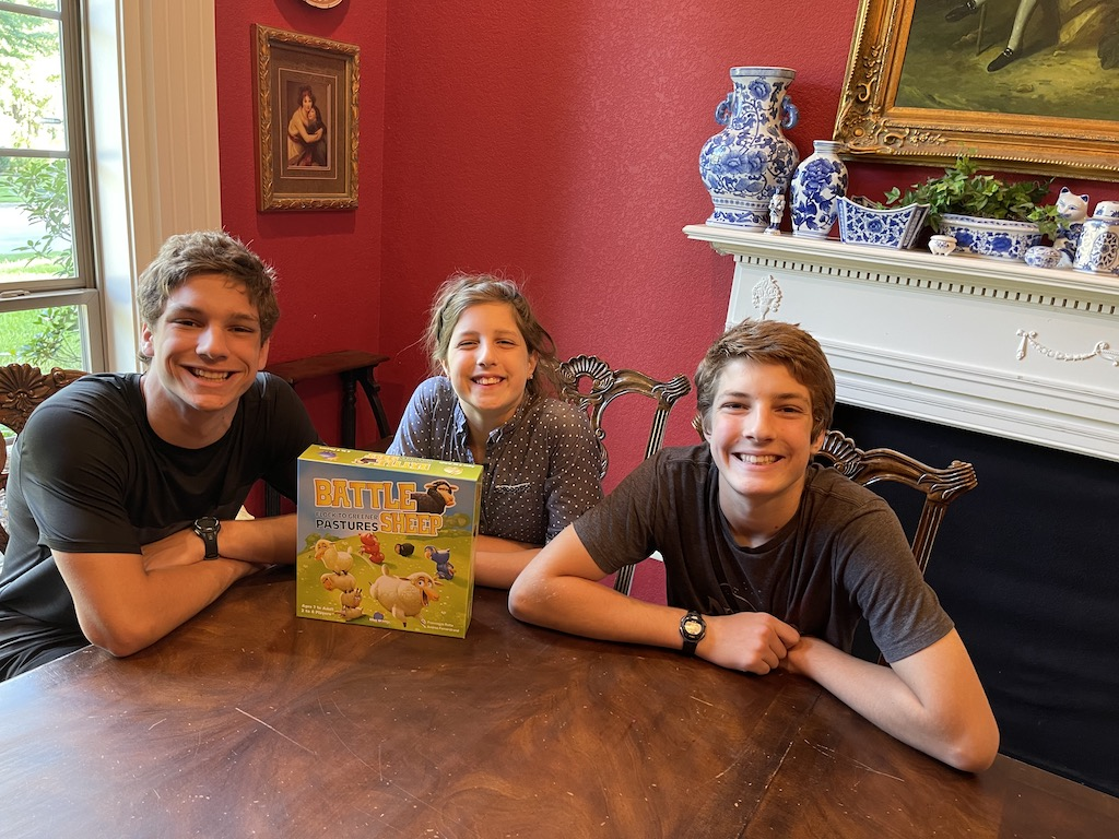 Daniel, Abby, and Gabriel