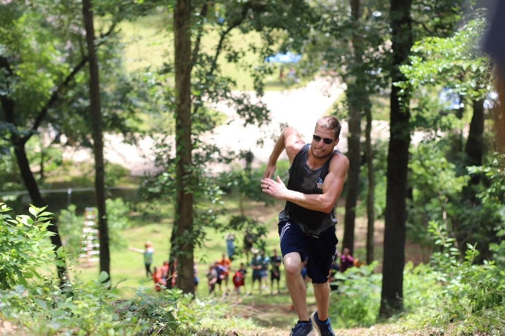 Family Olympic Uphill Run