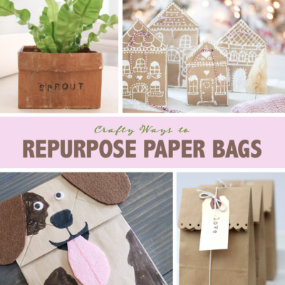 Clever Ways to Repurpose Paper Bags