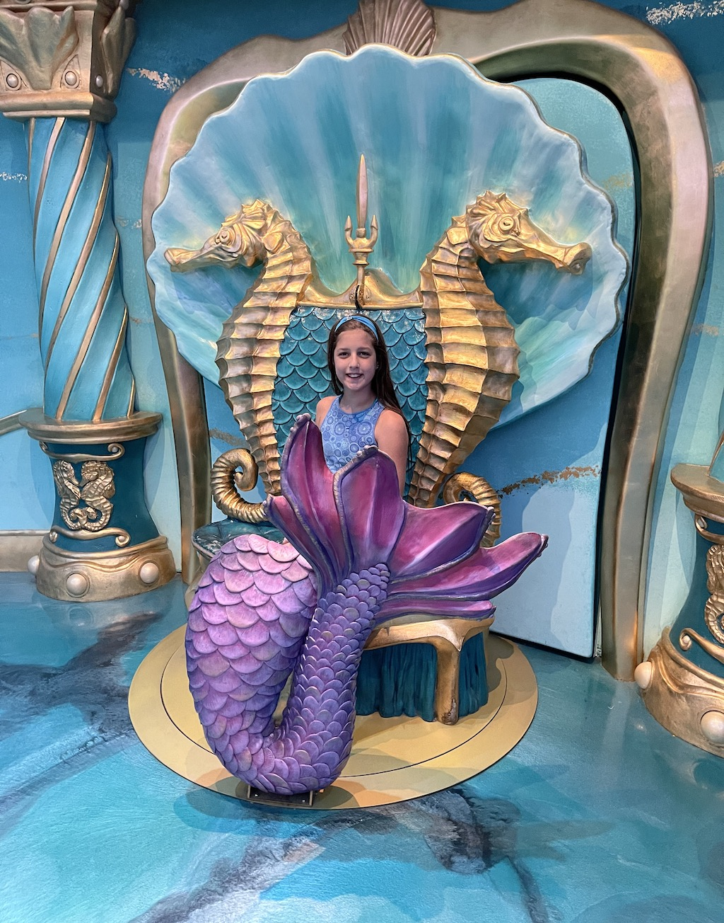 Abby in the Mermaid Palace