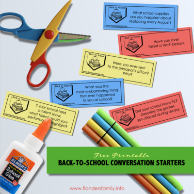 Back-to-School Conversation Starters