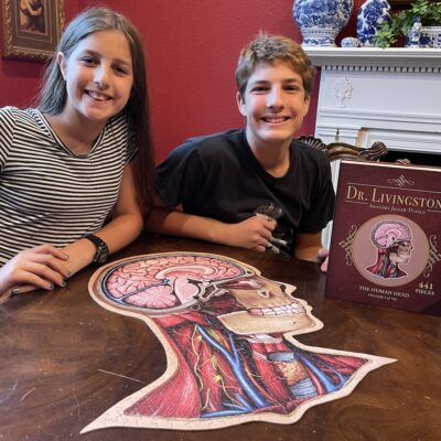 Dr. Livingston's Anatomy Puzzles (Timberdoodle Review)