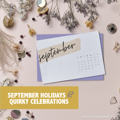 September Holidays & Quirky Celebrations