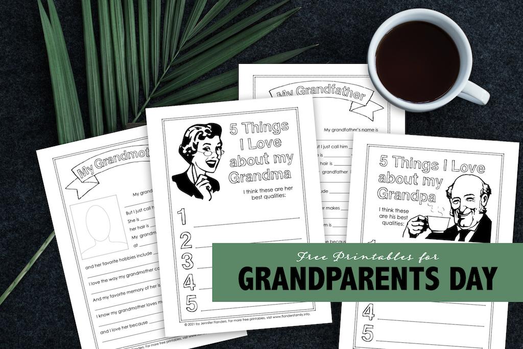 Grandparents Day Printables
