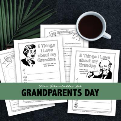 Grandparents Day Printables for Kids