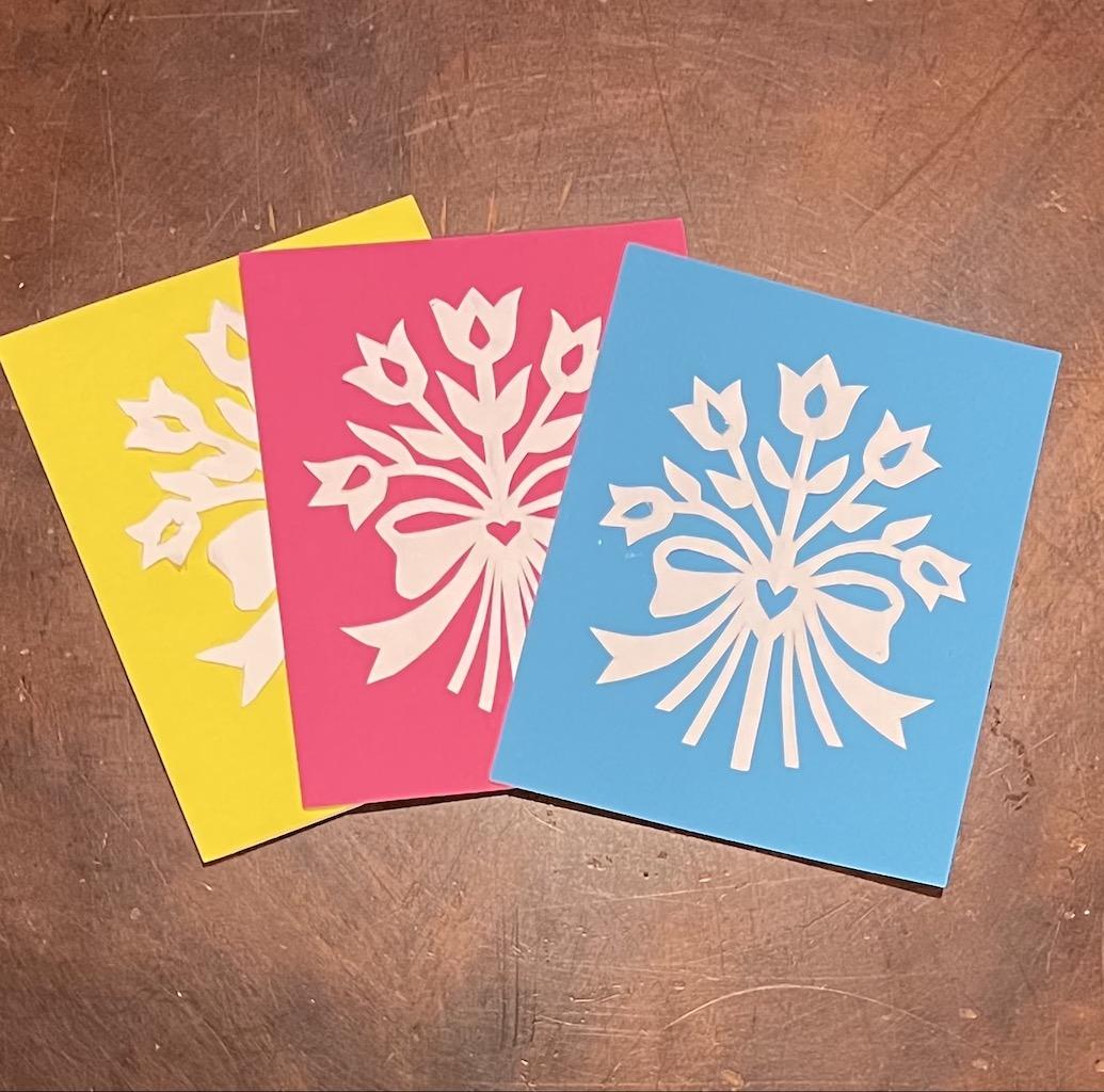 Scherenschnitte Cards