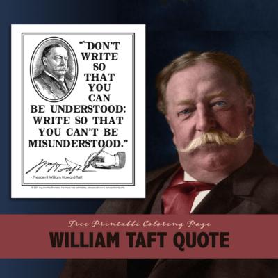 William Taft Quote