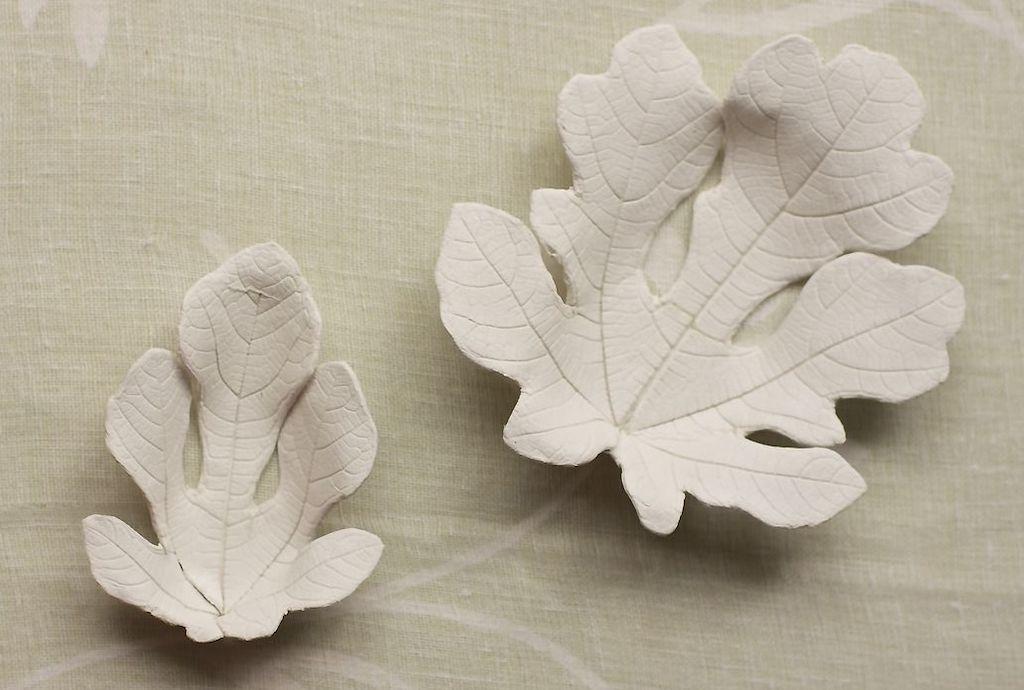 Clay Leaf Trays