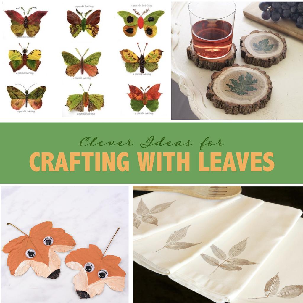 Clever Leaf Crafts for Kids